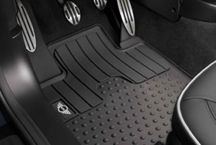 Rubber Front and Rear Floor Mats