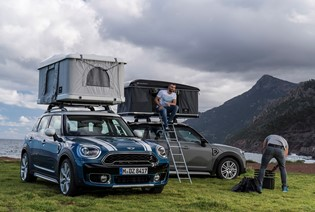 MINI COUNTRYMAN GETS NEW, SPECIAL EDITION AUTOHOME ROOF TENT