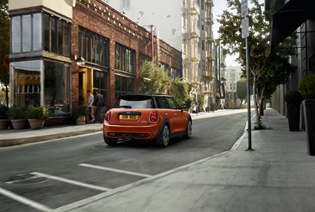 The MINI Park Lane Sales Event.