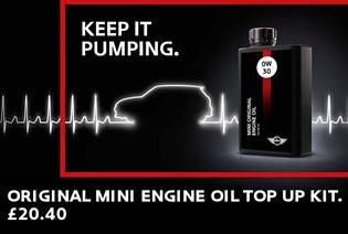 MINI Original Oil Top Up Kit
