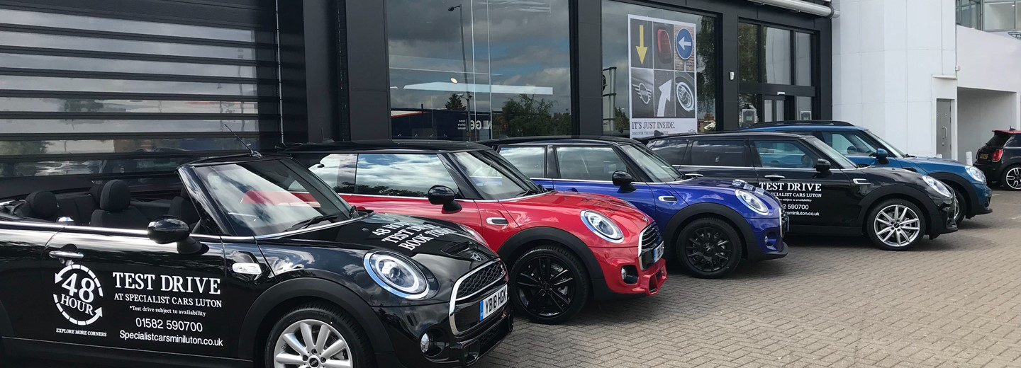 Specialist Cars Mini Luton New Approved Used Mini Retailer