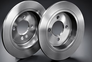 Genuine MINI BRAKE DISCS.
