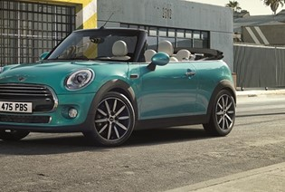 MINI Convertible now available from 0% APR