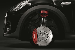 THE MINI JCW WHEEL PACK.