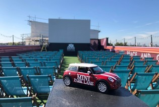 MINI PARK LANE MEETS ROOFTOP FILM CLUB