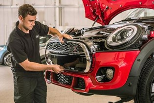 YOUR MINI. YOUR CHOICE. MINI APPROVED BODYSHOP.