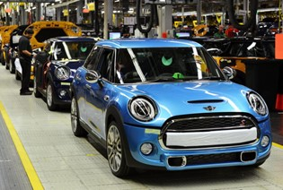 BMW Favors Oxford as Place to Build Electric Mini