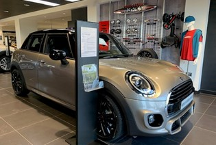 Save £2,721.78 on this MINI 5dr Cooper Sport