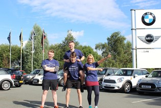 Williams Group Employees Prepare for Charity Run