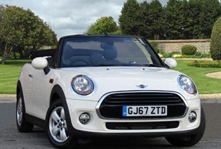 Cooper Convertible - Available at 5.9% APR with a £500 Deposit Contribution