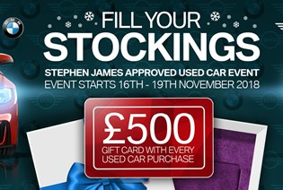 Stephen James Approved Used Car Event