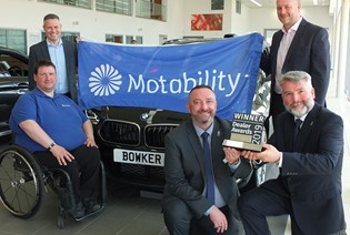 Blackburn Car Executive is Motability Specialist of the Year