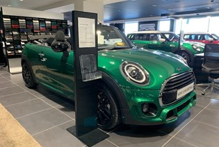 Save £2,100.27 on this MINI Convertible Cooper Sport