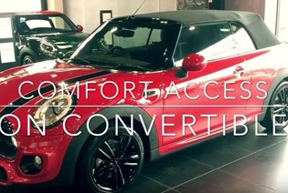 How To Use Comfort Access On Convertible