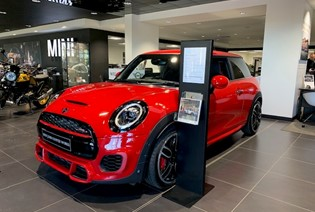 Save £3,337.22 on this MINI John Cooper Works 3dr
