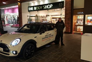 THE NEW MINI CLUBMAN IS AT CABOT CIRCUS