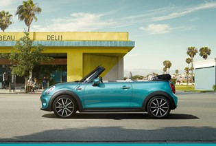 THE MINI CONVERTIBLE WITH 0% APR  ON IMMEDIATE DELIVERY VEHICLES.