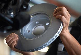MINI Brake Service Offer. From only £109*.
