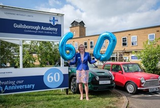 Guilsborough Academy Shares 60th Birthday with MINI