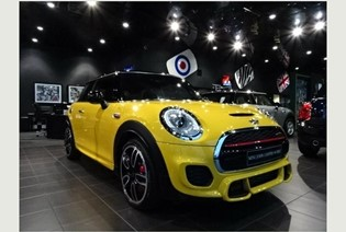 The MINI in Speed Yellow. ONLY 1 OF 5!