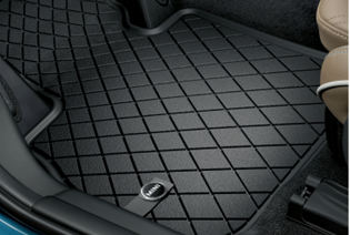 ALL-WEATHER FLOOR MATS, FRONT AND REAR