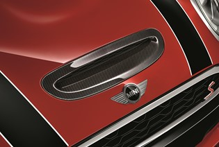 THE MINI JCW CARBON FIBRE PACK.