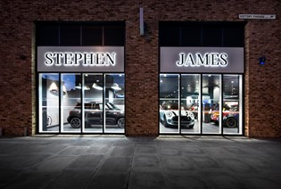 View our new Stephen James Woolwich MINI Showroom
